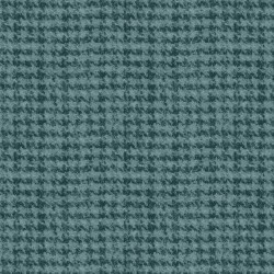 Woolies Flannel Maywood Studio Houndstooth Teal