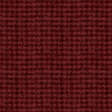 Woolies Flannel Maywood Studio Houndstooth Red