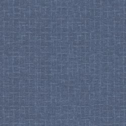 Woolies Flannel Maywood Studio Crosshatch Blue
