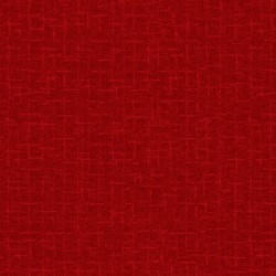 Woolies Flannel Maywood Studios Crosshatch Dark Red