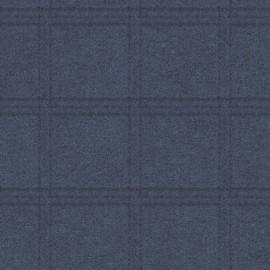 Woolies Flannel Maywood Studio Tartan Grid Navy