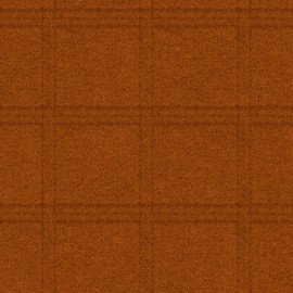Woolies Flannel Maywood Studio Tartan Grid Orange