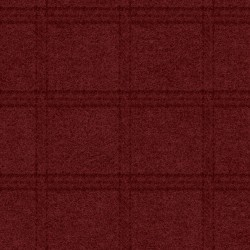 Woolies Flannel Maywood Studios Tartan Grid Deep Red