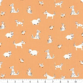Playground Windham Fabrics Peach Friends