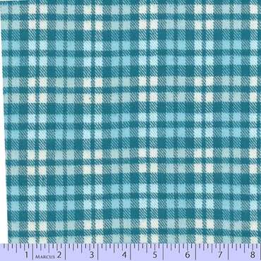 Flannel Primo Plaids Marcus Brothers Blue Ice
