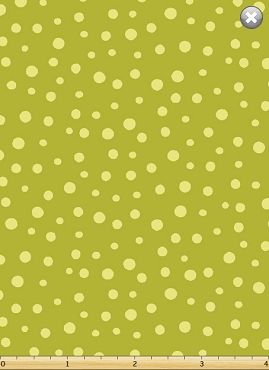 Barnyard Buddies Susybee Fabrics Irregular Dot Dark Lime