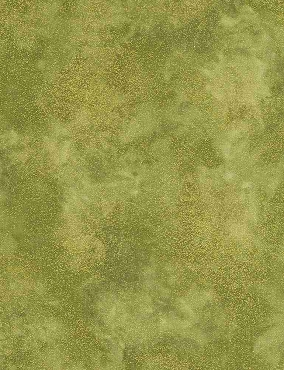 Shimmer Timeless Treasures Moss Gold Metallic