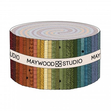 Woolies Flannel Colors Volume 2  2 1/2 strips for Maywood Studios