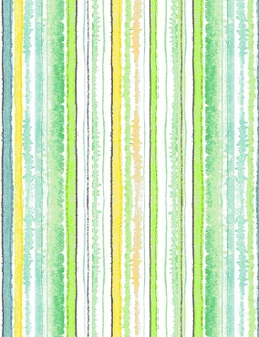 Spring SongTimeless Treasures Digital Stripes Green