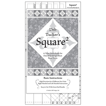 Square 2 Template ruler Studio180 Design square in square
