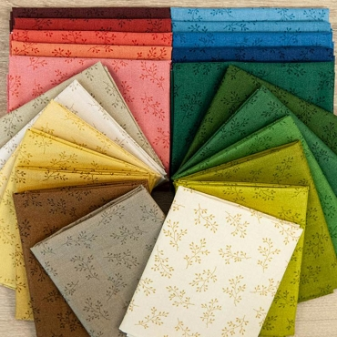 "Olive Branch Andover Fabrics Fat Quarter Bundle 22 of 18"" x 22"""