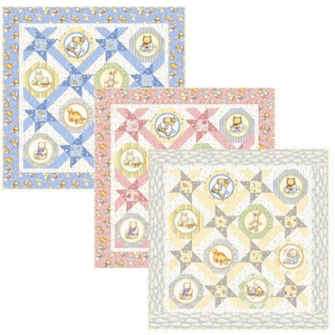 Quilt Kit Top Lullaby QT Fabrics  46 x 46