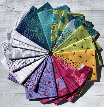 Norma Rose Fat Quarter Bundle Windham Fabrics 26 @ 18 by 22
