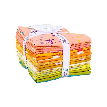 True Colors Free Spirit Tula Pink Goldfish Fat Quarter Bundle 16 of 18 x 22