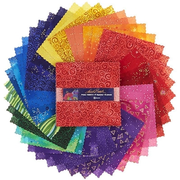 Prism Laura Birch 10 inch Squares  42 pieces