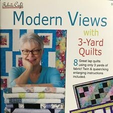 Quilt Book Modern Views by Donna Robertson