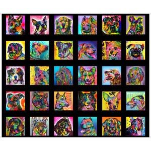 Doggie Daze QT Fabrics Digital Panel 44 x 36