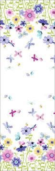 Susybee Flutter the Butterfly Border Print