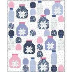Quilt Kit Top Fairy Lights by Stacey Day Finished size: 48 x 60