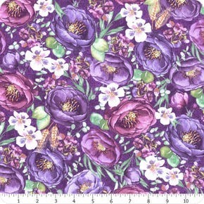 Violette Wilmington Prints Purple Violette Allover